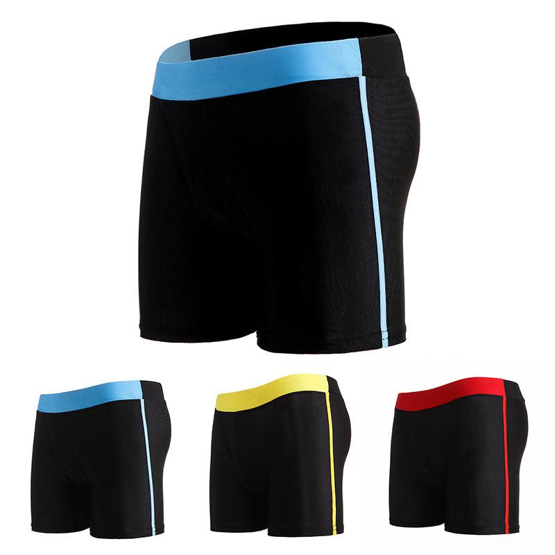Aussiebum Men's Beach Breathable Quick-Dry Bubble Hot Spring Chinlon MEN'S Swimsuit Joint Mixed Colors Large Boxers Wholesale