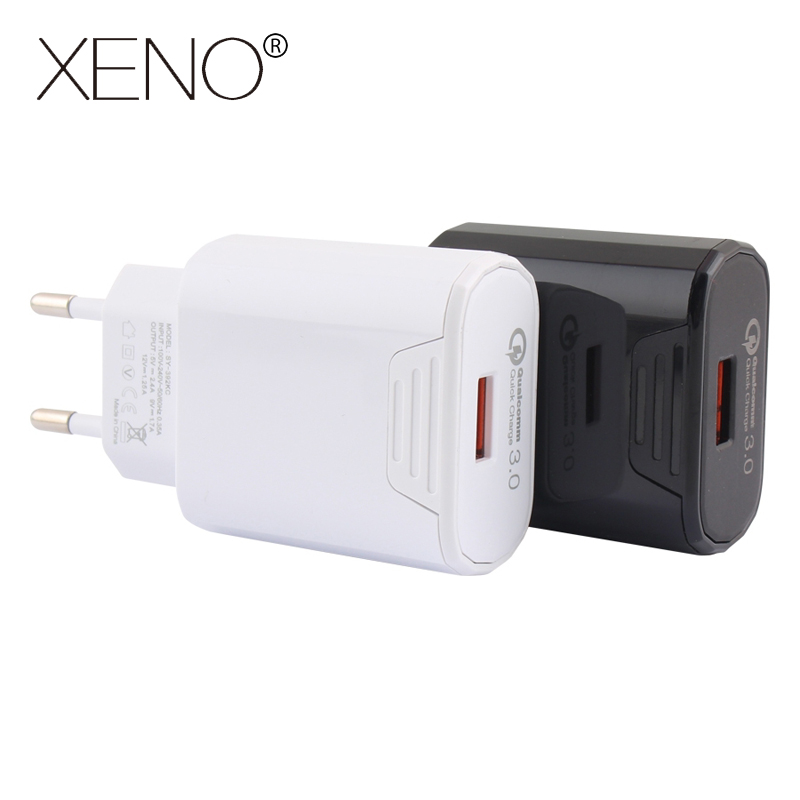 EU Plug Universal Mobile Phone Fast Charger Charging For iPhone Quick Charge 3 0 5V 2 4A USB Travel Charger For Samsung Xiaomi in Mobile Phone Chargers from Cellphones Telecommunications