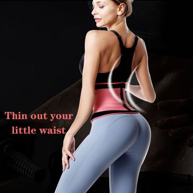 Waist Trimmer Trainer Belt Weight Loss Premium Neoprene Sport Sweat Workout Slimming Body Shaper Sauna Exercise 2