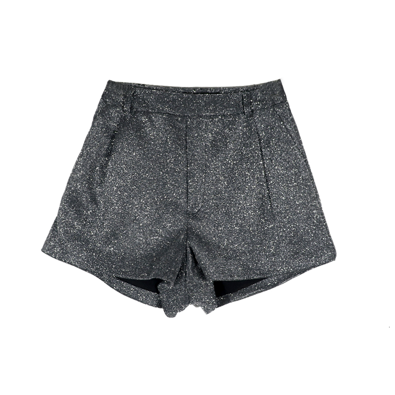 LANMREM 2019 Autumn And Winter New Fashion Retro Sexy Wild Pocket Long Leg Shorts Hot Pants Women PB401