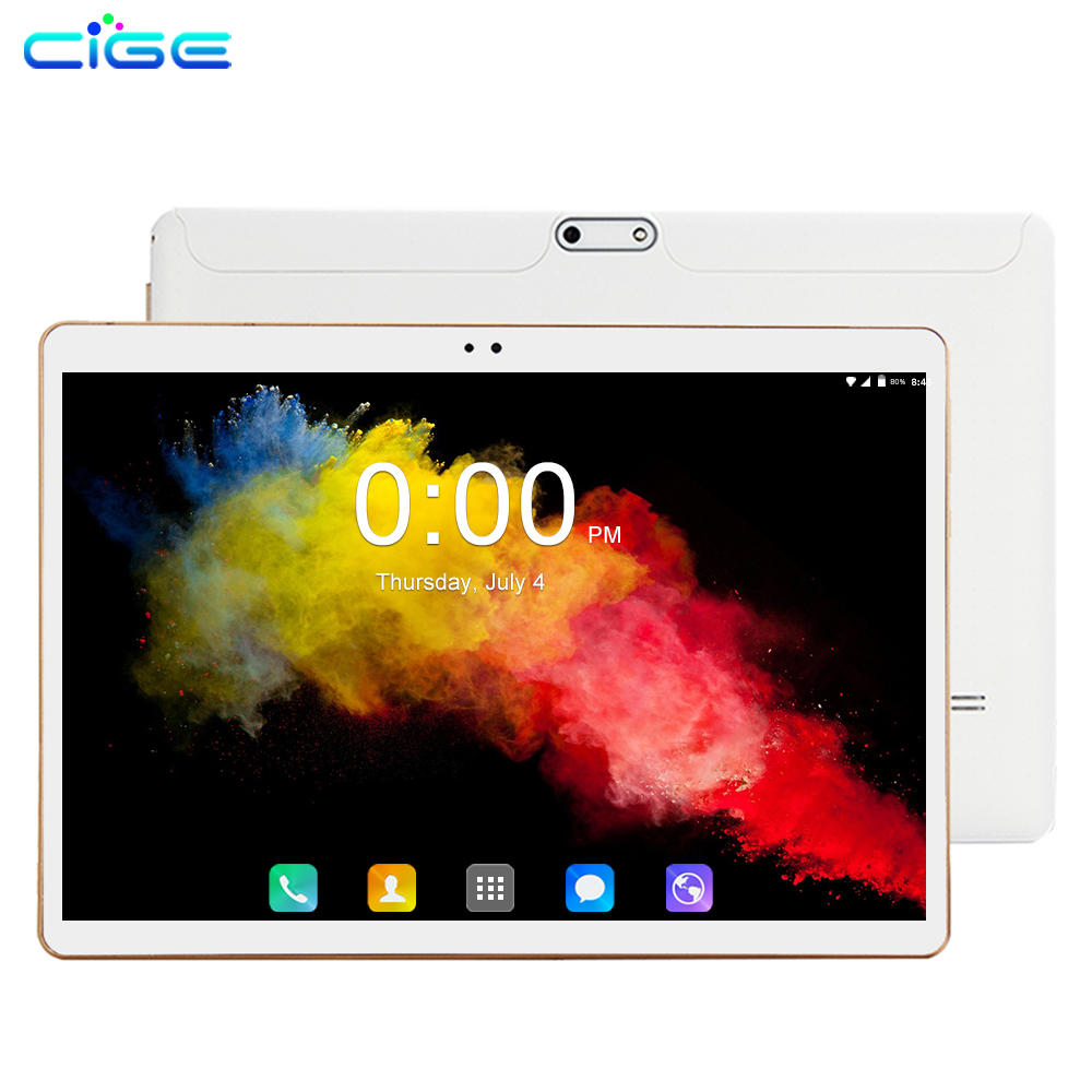 2019 New Tablet 10 Inch 3G/4G LTE Phone Call Tablet PC Octa Core 6GB RAM 64GB ROM Tab 1280x800 IPS 10.1 Tablets Android 8.0