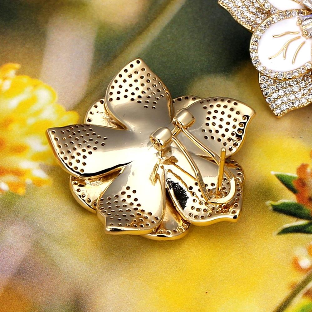 Noiva falar de luxo moda flor clipe