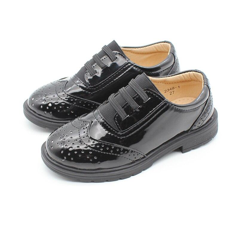 Kids Toddler Little Kid Girl Boy Dress Oxford Leather Shoe