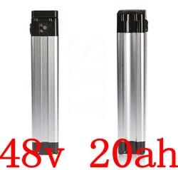 48V 500W 750W 1000W akumulator 48v 20ah akumulator litowy 48v 20ah akumulator do rowerów elektrycznych użyj komórki LG z ładowarką 2A