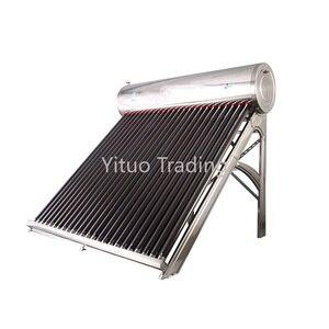 Zintegrowany domowy 304 solarny podgrzewacz wody ze stali nierdzewnej 1500w/3000w wysokiej mocy fotoelektryczny podwójny inteligentny zbiornik na wodę