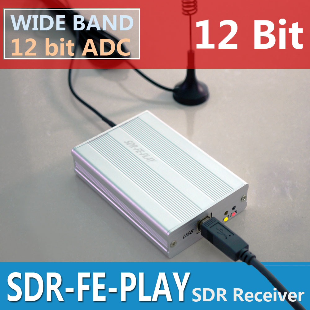Wideband  Full Featured 12bit SDR Receiver SDRPLAY RSP1 RSP2 RTL-SDR HackRF Upgrade AM FM HF SSB CW receiver Full band HAM Radio 90 corner clamp shopify