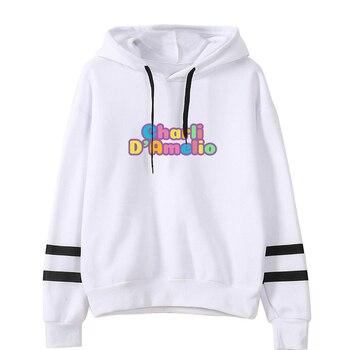 charli damelio merch Sweatshirt Men/Women Print Ice Coffee Splatter Hoodies Fashion Hip Hop hoodie Pullovers Tracksuit Clothes 14