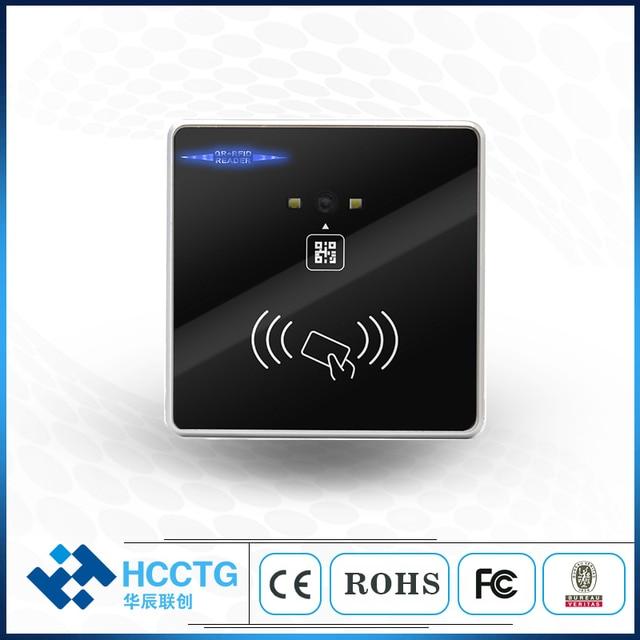 HM30 QR code + RFID access control reader RS232/USB/RS485/TTL Wiegand 1