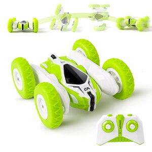 Image 2 - Sinovan hugine rcカー2.4グラム4CHスタントドリフト変形バギー車ロッククローラーロール車360度フリップ子供ロボットrcカーのおもちゃ
