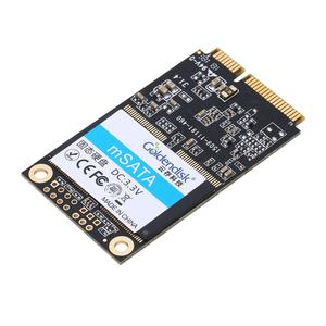 Goldendisk Industrial Computer Disk MINI SSD 8GB m SATA Connector pcie Solid State Drives internal Fast Speed Upgrade NAND MLC