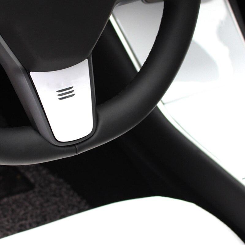 Tesla Model 3 Door Handle Wrap Set Colored Protector Stickers Door Handle 3D PU Decal For Tesla Model 3 (4 Pieces)