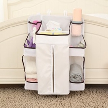 Storage Baby Hanging Sorting Bag Bedside Or Bedroom Diaper Nappy Cloth Organizer Multifunctional Bags