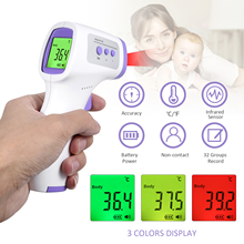 Forehead Body/ Object Thermometer Non-contact IR Infrared Sensor Temperature Measurement