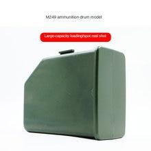Большой емкости журнал для m249 водные гелевые бусинки выстрел