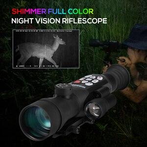 Image 2 - Наружный телескоп ночного видения мерцающий полноцветный телескоп Монокуляр ночного видения Цифровой телескоп Wifi GPS дикая природа 1080p
