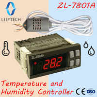 ZL-7801A, Universal, General, Temperature and Humidity Controller, Thermostat and Hygrostat, Thermistat thermostat, CE, Lilytech