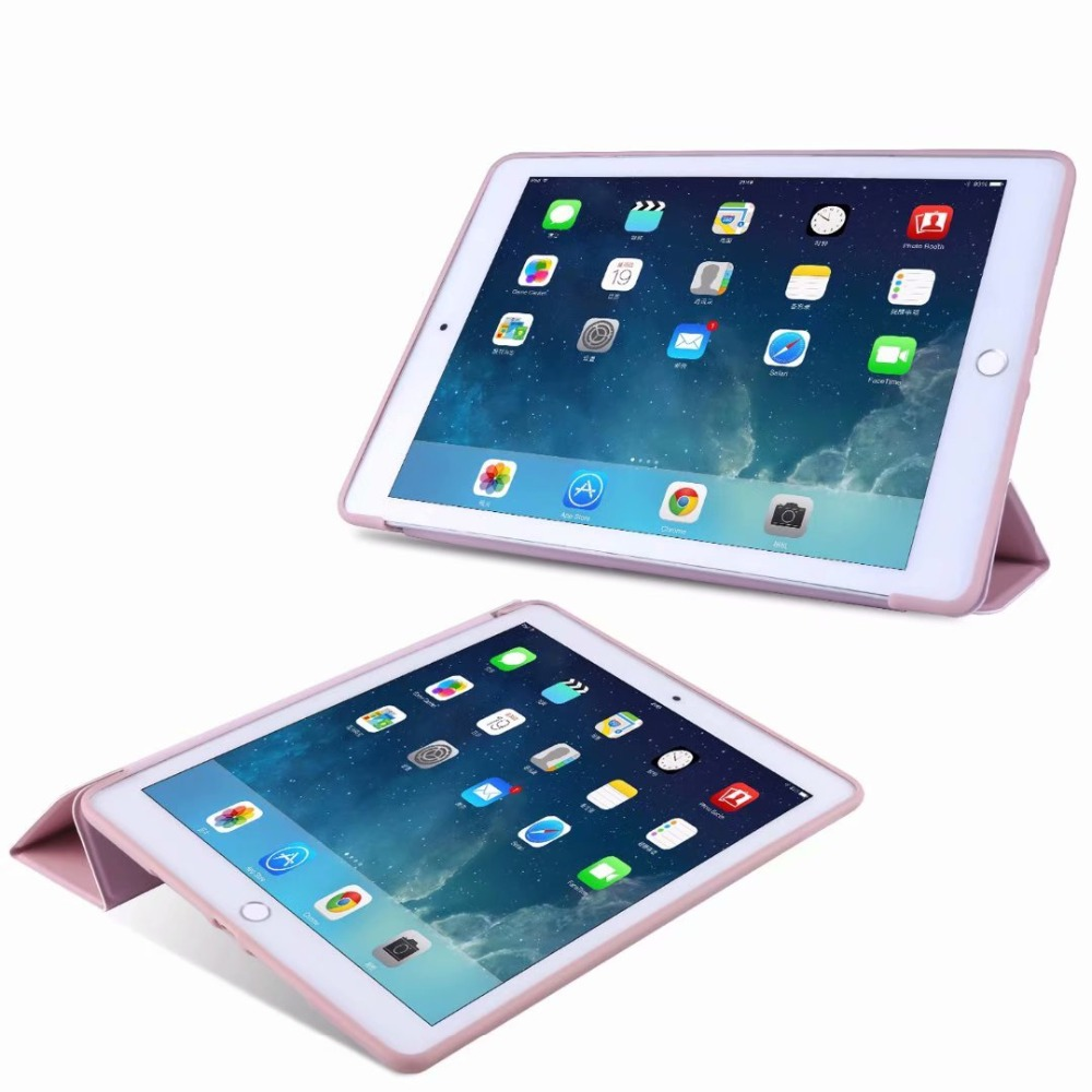 For Tri-fold light Soft Case 10 Smart 2 10.2 Slim Cover Case Ipad For Tablet iPad TPU