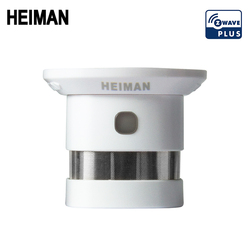 Nova heiman z-onda detector de fumaça zwave casa inteligente ue 868.42 mhz onda z sensor de alarme de incêndio para segurança casa inteligente frete grátis