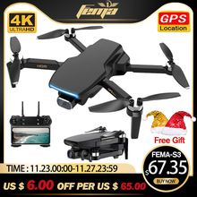 Gps-Drone Camera FEMA Rc Quadcopter Rc-Distance Professional Brushless S3 with 4k HD