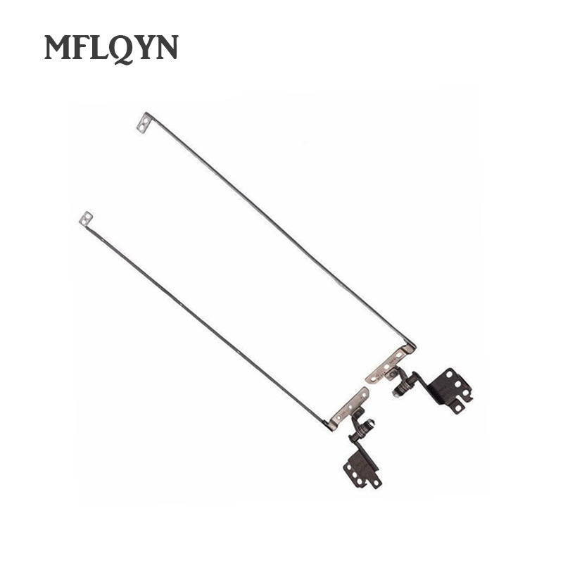 New Laptop LCD Screen Hinges For Lenovo Ideapad Y570 Y570a Y570n Notebook LCD Screen Display Left & Right Hinges Steel Brackets