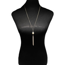 Fashion Long Tassel Pearl Necklace Women Exaggerated Creative Sweater Chain Necklace Jewelry XL632 lose money promotion dainashi extra long clip sweater chain pearl necklace 100