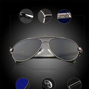 Image 4 - VEITHDIA אלומיניום מגנזיום Mens משקפי שמש מקוטב עדשת משקפיים שמש לגברים משקפי אביזרי oculos דה סול masculino 2605