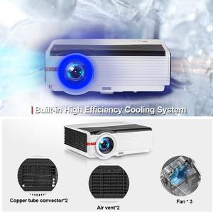 Image 5 - Caiwei LCD العارض 1080P أندرويد عارض فيديو 1G RAM 8G ROM السينما المنزلية Proyector للترفيه المنزلي/التعليم