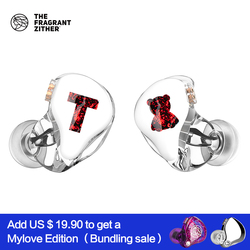 TFZ/ T x Bear 1,1 Knowles Balanced Armature Driver In Ear Earphone HIFI Bass Monitor Earphone,With 2pin Cable