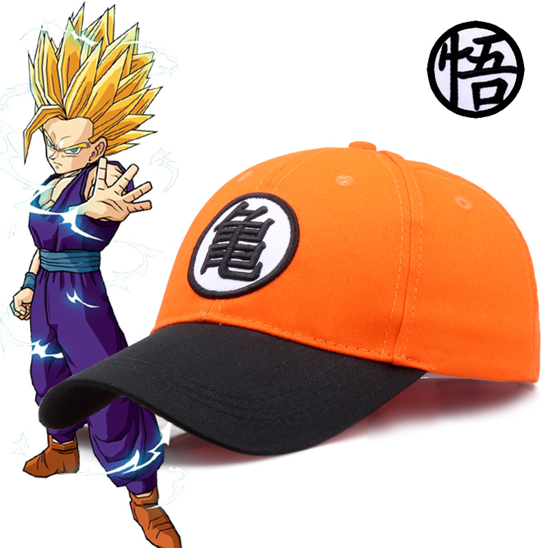 New High Quality Anime Dragon Ball Z /Dragonball Goku Snapback Hat For Men Women Adjustable   Baseball     Cap   Gorras Para Casquette