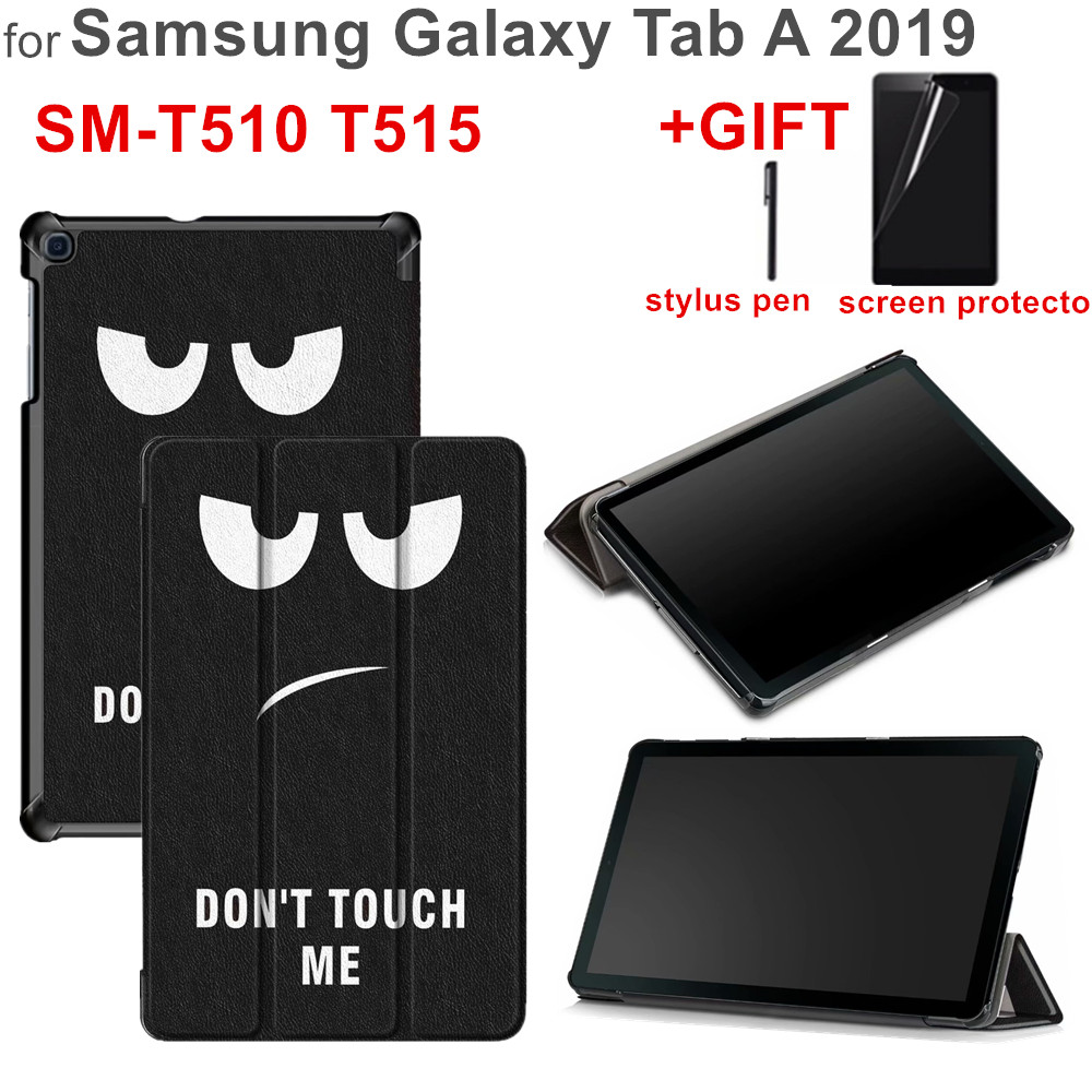 Magnet Cover For Samsung Galaxy Tab A 10.1 2019 SM-T510 SM-T515 T510 T515 Funda Cover For Samsung Galaxy Tab A 10.1 2019 Case image