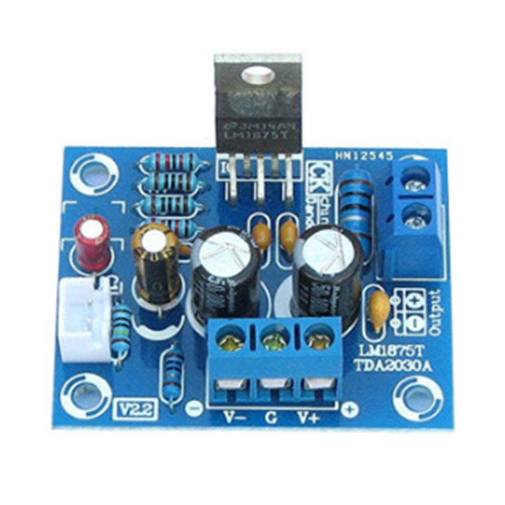 20W <font><b>LM1875T</b></font> Module Accessories Power <font><b>Audio</b></font> <font><b>Amplifier</b></font> Board <font><b>Kit</b></font> HiFi <font><b>Stereo</b></font> Speaker Part Portable <font><b>DIY</b></font> PCB Mono Channel Player image