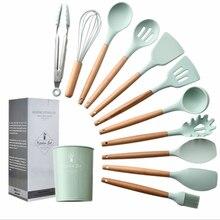 Cooking Tools Set Premium Silicone Kitchen  With Storage Box