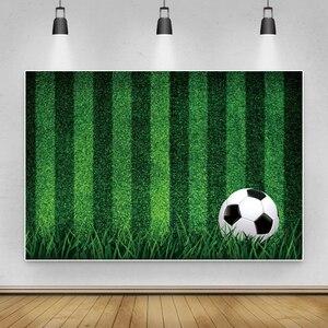 Image 3 - خلفيات كرة القدم للتصوير الفوتوغرافي ، العشب الأخضر ، هدف ملعب الأطفال ، منطقة التصوير ، خلفية الصور ، صورة عيد الميلاد