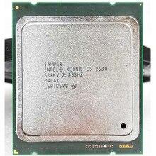 intel xeon e5 2630 E5-2630 intel xeon e5 2630 E5-2630 2.3GHZ 7.2GT/s  2.3GHZ 7.2GT/s 15MB SIX CORE LGA2011CPU suitable X79