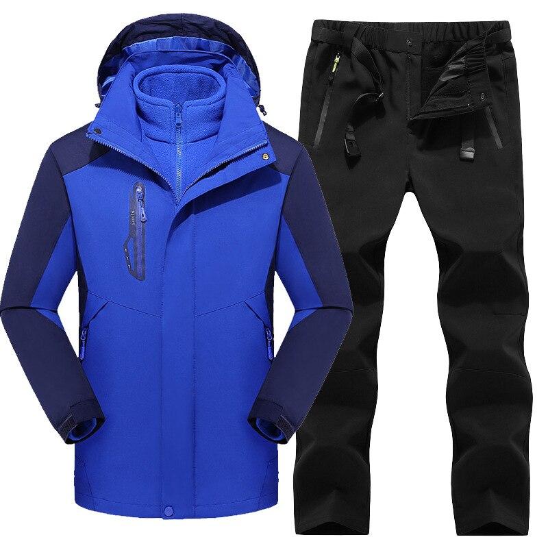 Winter Adult Single Board, Double Board Sports Waterproof, Windproof, Warm Skiing Suit, Women's Sets Giacca Da Snowboard
