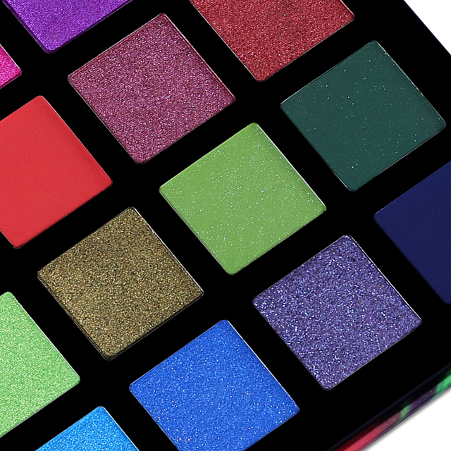 UCANBE Spotlight 40 Color Eye Shadow Palette Colorful Artist Shimmer Glitter Matte Pigmented Powder Pressed Eyeshadow Makeup Kit 3