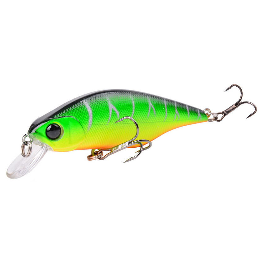 1Pcs Minnow 9cm 11g Fishing Lure Hard Bait Wobbler Crankbait Fish Smart Fresh Salt Water Trout Fishing Lures Carp