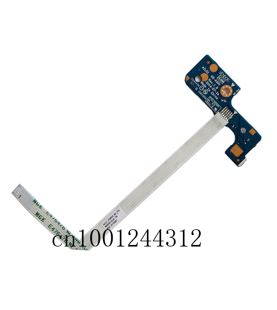 New Original For Lenovo G70-50 G70-70 Power Button Board w/Cable  NS-A331 thumbnail