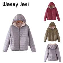Women Winter Coats Duck Down Jacket Autumn Ultra Light chic Slim Womens warm plus size
