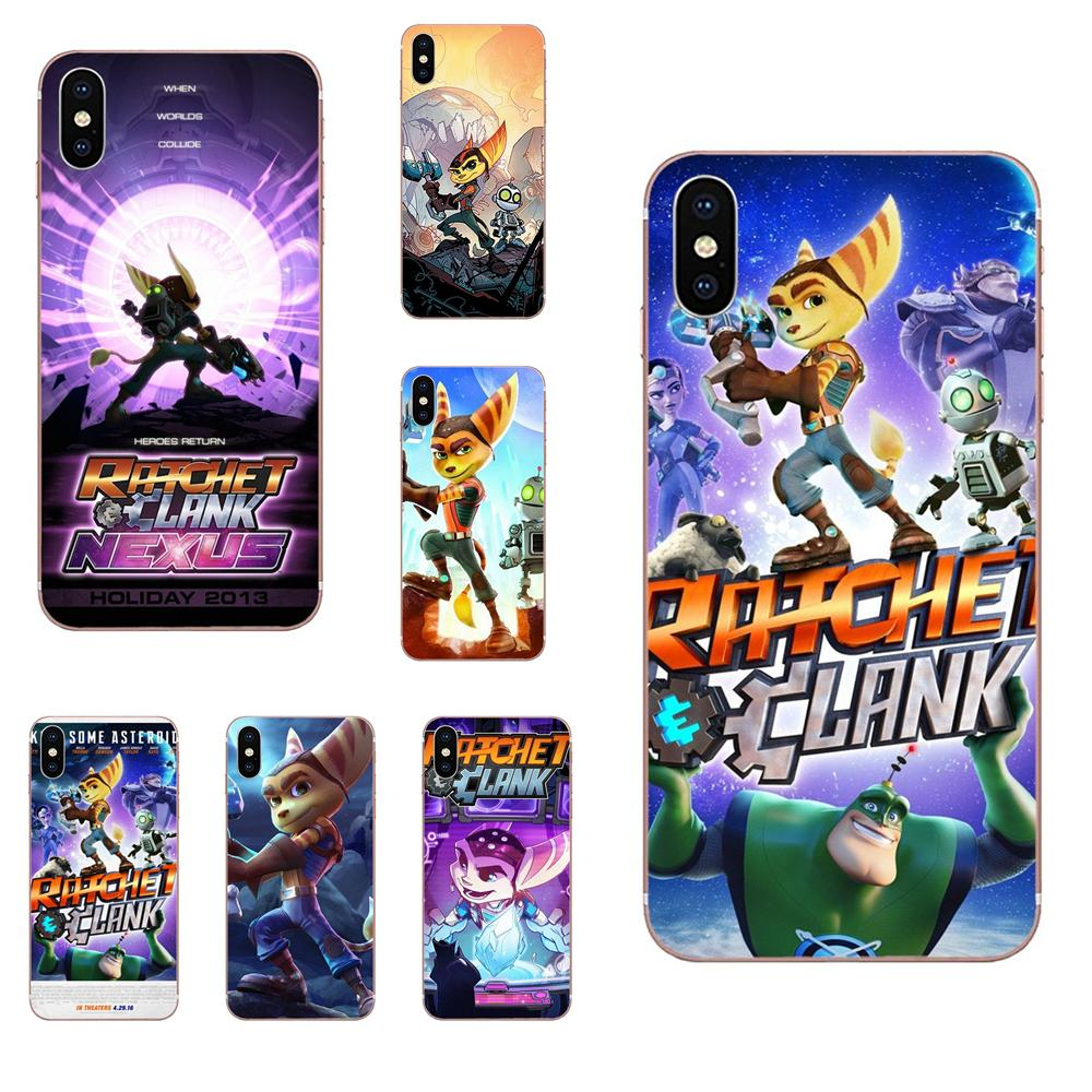 Game Ratchet And Clank Soft Silicone Phone Case Cover For LG K50 Q6 Q7 Q8 Q60 X Power 2 3 Nexus 5 5X V10 V20 V30 V40 Q Stylus image