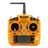 Large Backlit LCD Display T SIX 2.4GHz 6CH Operation Programmable Transmitter Compatible With AR6100E Receiver DSM2 RC