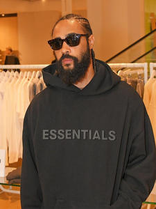 2020 New Hoodies Sweatshirts 100% 1:1 fog essentials kanye west  jerry lorenzo loose ovesized Hoodies hip hop cotton Sweatshirts