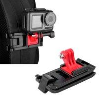 Einstellbare Action Kamera Rucksack Strap Halter Clip Universal für DJI OSMO Tasche GoPro Hero 8 7 6 5 SJCAM Yi clamp Montieren