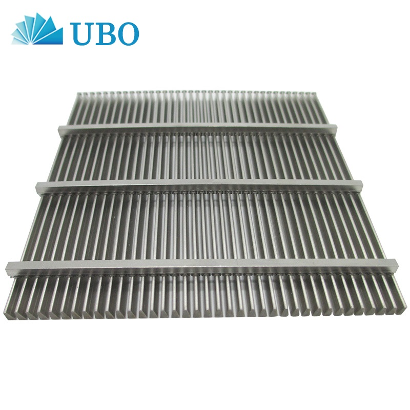 Filter Strainer Element Stainless Steel Wedge Wire Screen Panel Custom Supplier China