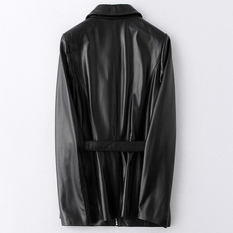 Real Fur Coat Female Genuine Leather Jacket Autumn Winter Coat Women Clothes 2020 Korean Vintage Tops Sheepskin Coat ZT4873