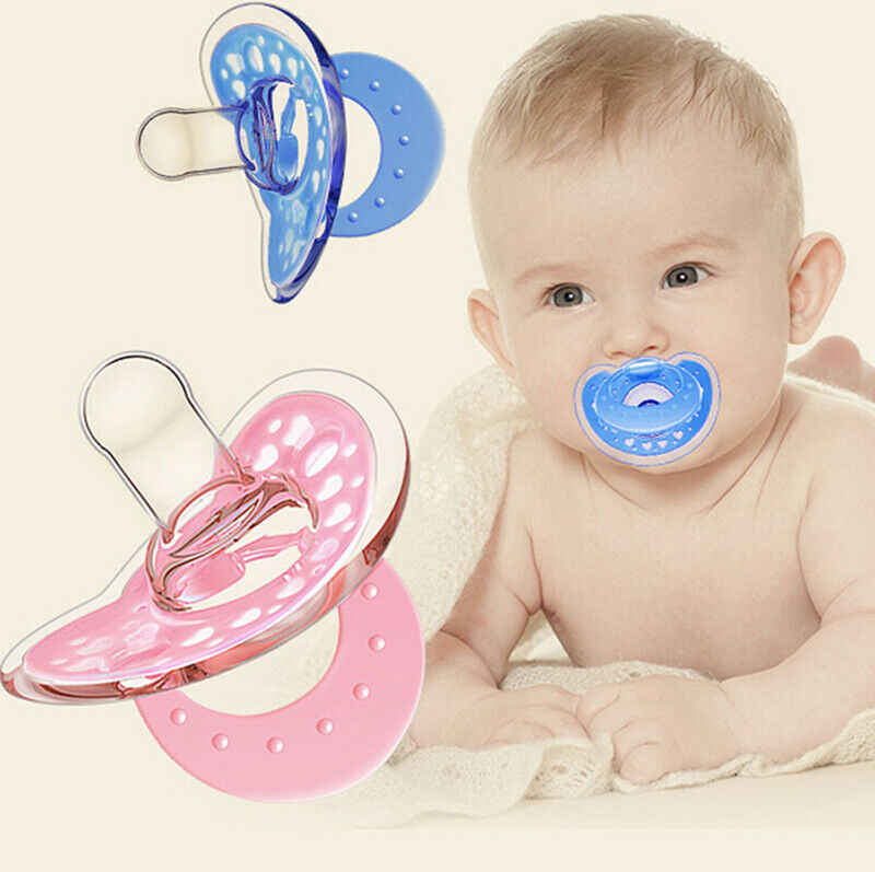 New Kids Orthodontic Dummy Pacifier Infant Silicone Teat Nipple Soother.vi