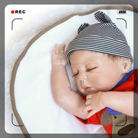Full Vinyl Silicone 55 CM Lovely Realistic Soft Silicone Doll Reborn Alive Dolls Lifelike Sleeping Reborn Toys For Kids Gift