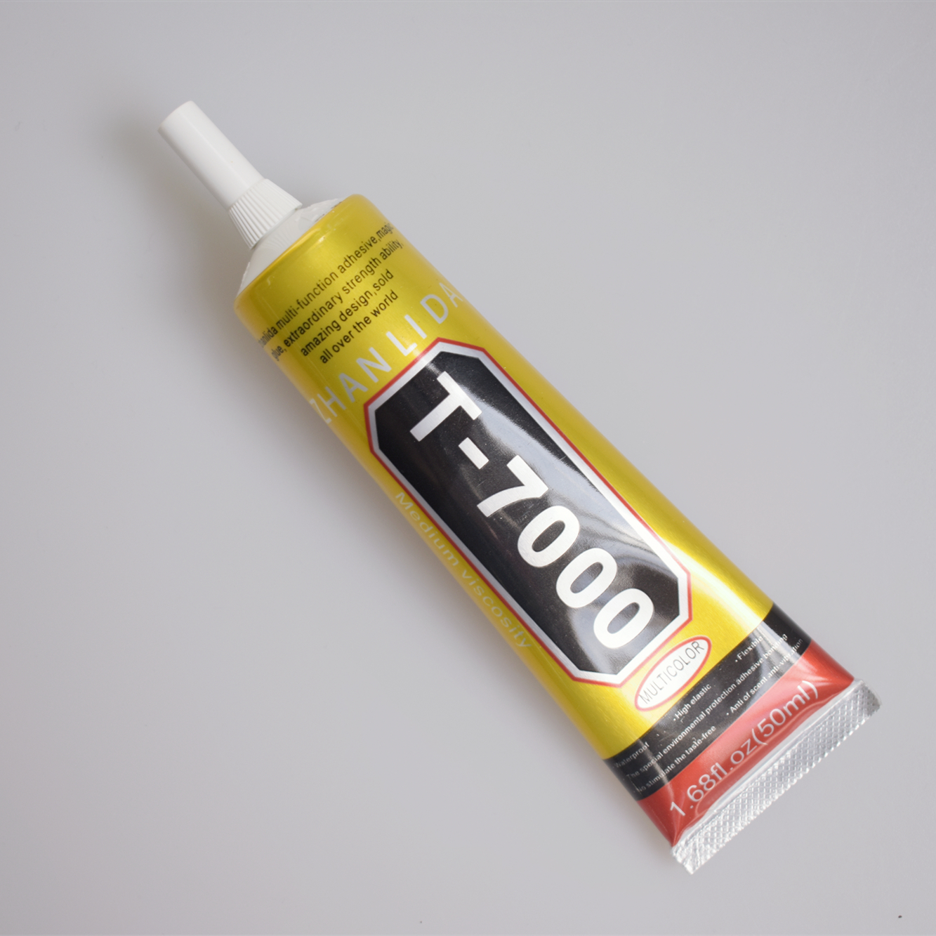 1 Pcs 50ml T-7000 Glue  T7000 Multi Purpose Glue Adhesive Epoxy Resin Repair Cell Phone LCD Touch Screen Super Glue T 7000