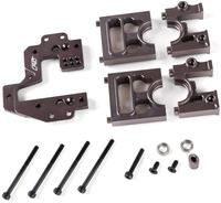 CNC Metal Middle Difference Bracket Kit with 2set alloy diff holder for 1/5 Rovan ROFUN F5 MCD Rr5 Xs 5 Truck