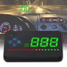 Проектор, автоматически удобный автомобильный дисплей, электронный, легко устанавливается, экономит энергию, прозрачный, HUD, gps, спидометр, цифровой
